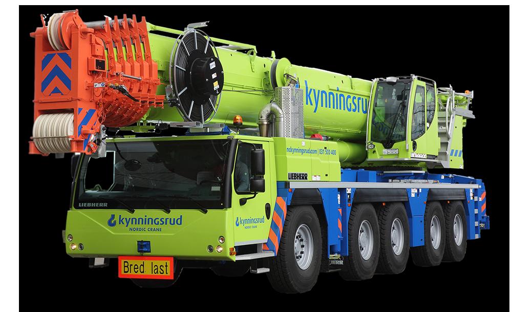 Mobilkran og Transport - Nordic Crane Kynningsrud
